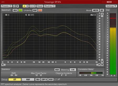 Voxengo SPAN 2.0 Screenshot