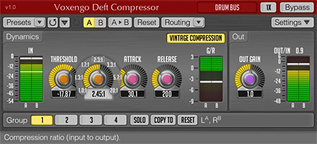 Voxengo Deft Compressor 1.0 Screenshot