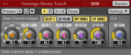 Voxengo Stereo Touch 2.4 Screenshot