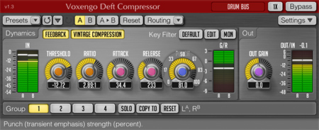 Voxengo Deft Compressor 1.3 Screenshot