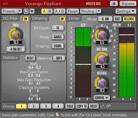 Voxengo Elephant 3.8 Screenshot