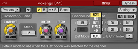 Voxengo BMS 2.0 Screenshot
