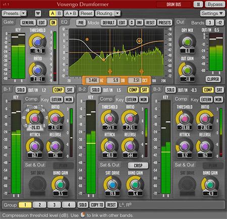 Voxengo Drumformer 1.1 Screenshot