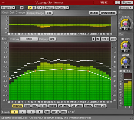 Voxengo Soniformer 3.3 Screenshot