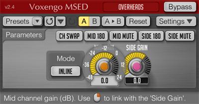 Voxengo MSED 2.4 Screenshot