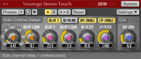 Voxengo Stereo Touch 2.5 Screenshot
