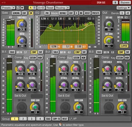 Voxengo Drumformer 1.3 Screenshot