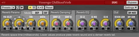 Voxengo OldSkoolVerb 2.2 Screenshot