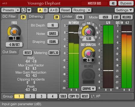 Voxengo Elephant 4.0 Screenshot