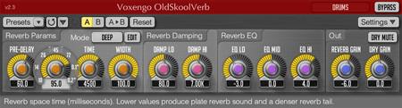 Voxengo OldSkoolVerb 2.3 Screenshot