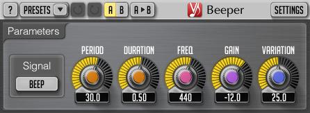 Voxengo Beeper 2.7 Screenshot