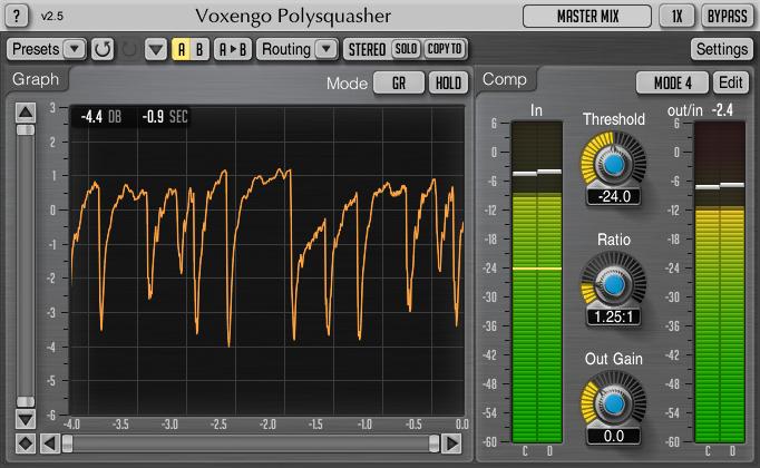 Voxengo Polysquasher 2.5 Screenshot