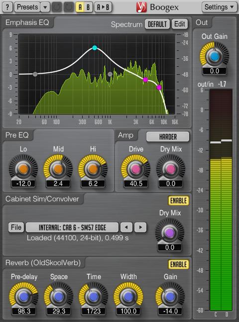 Voxengo Boogex 2.0 Screenshot