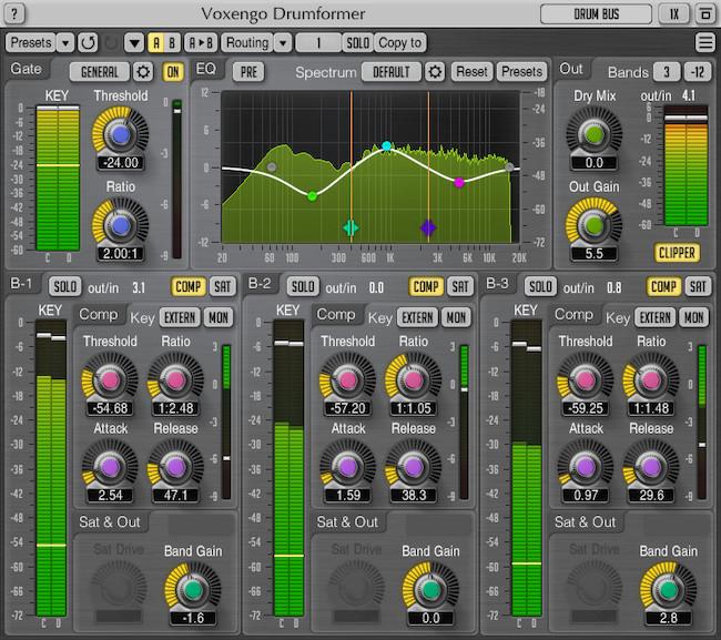 Voxengo Drumformer 1.5 Screenshot