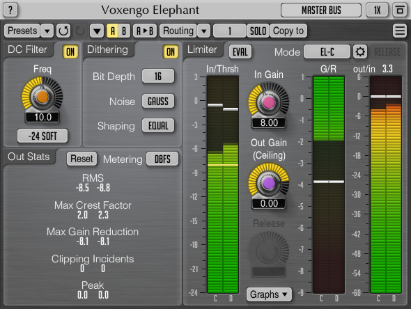 Voxengo Elephant 4.5 Screenshot