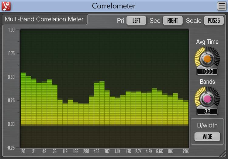 Voxengo Correlometer 1.0 Screenshot