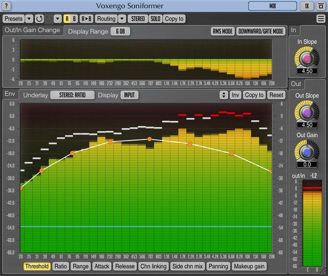 Voxengo Soniformer 3.8 Screenshot