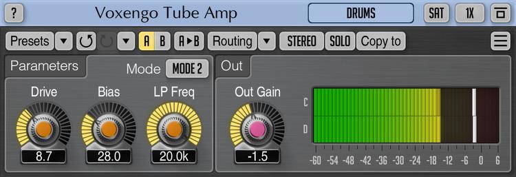 Voxengo Tube Amp 2.6 Screenshot