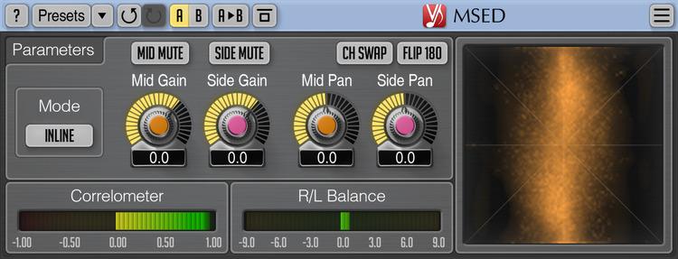 Voxengo MSED 3.1 Screenshot