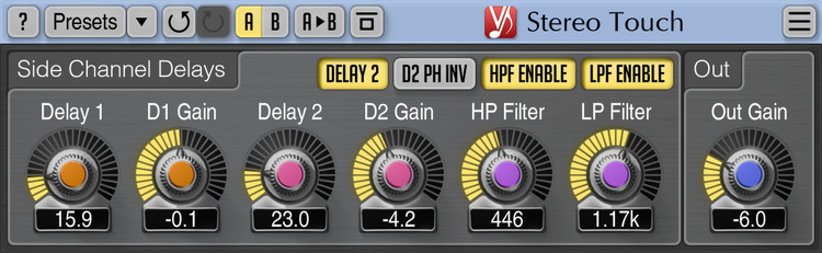 Voxengo Stereo Touch 2.10 Screenshot