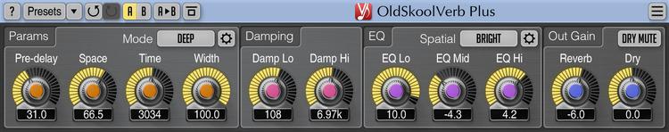 Voxengo OldSkoolVerb Plus 1.1 Screenshot