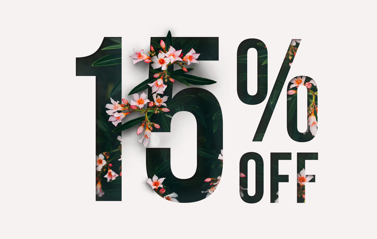 Summer 2019 Discount 15%