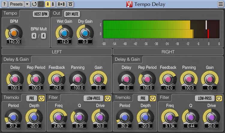 Voxengo Tempo Delay 2.2 Screenshot