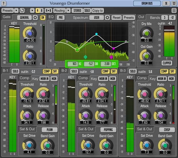 Voxengo Drumformer 1.6 Screenshot