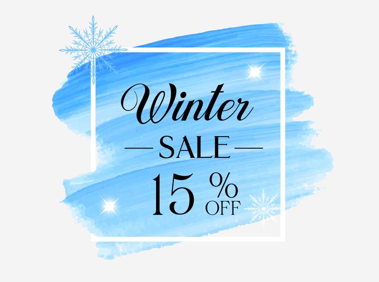 Winter Sale 15% OFF