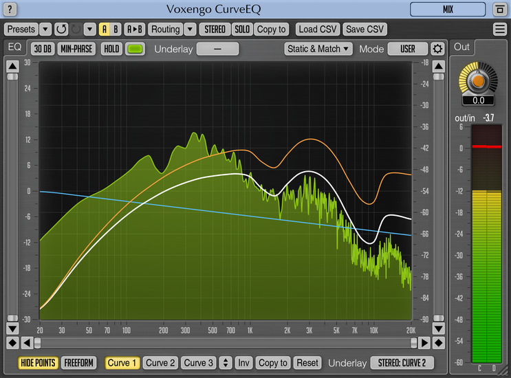 Voxengo CurveEQ 3.8 Screenshot