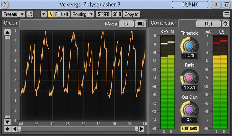 Voxengo Polysquasher 3.2 Screenshot