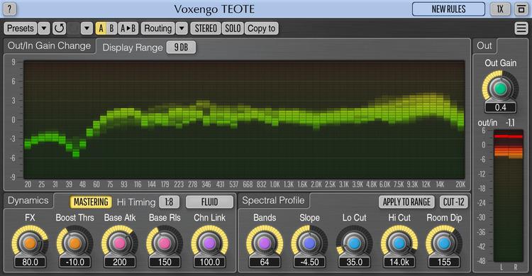 Voxengo TEOTE 1.1 Screenshot