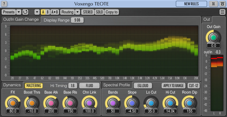 Voxengo TEOTE 1.2 Screenshot