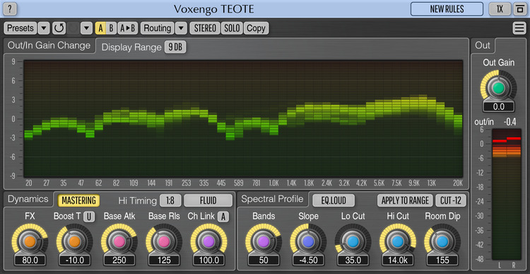 Voxengo TEOTE 1.5 Screenshot