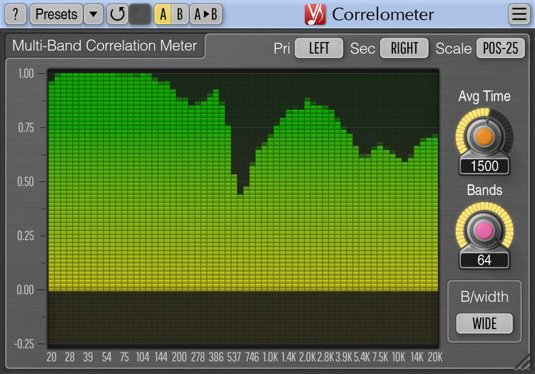 Voxengo Correlometer 1.4 Screenshot