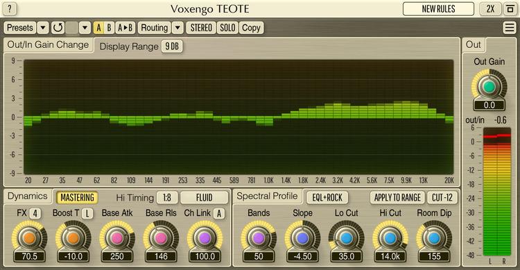 Voxengo TEOTE 1.7 Screenshot