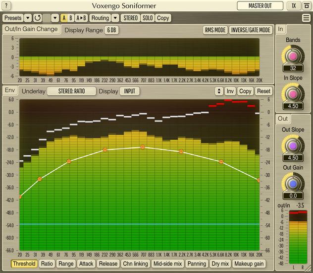 Voxengo Soniformer 3.13 Screenshot