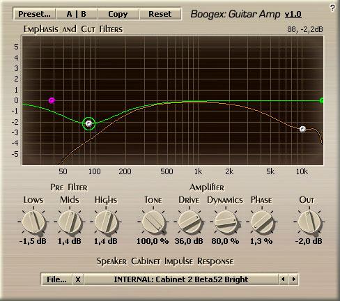Voxengo Boogex 1.0 Screenshot