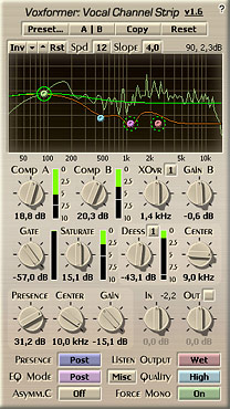 Voxengo Voxformer VST 1.6 Screenshot