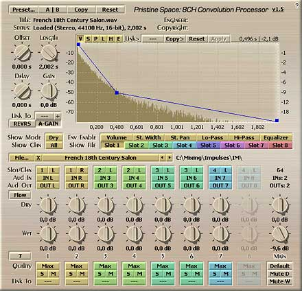 Voxengo Pristine Space VST 1.5 Screenshot