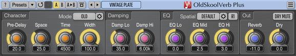 Voxengo OldSkoolVerb Plus Screenshot