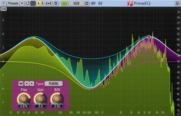 Voxengo PrimeEQ Screenshot
