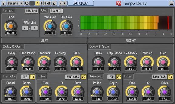 Voxengo Tempo Delay Screenshot